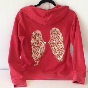 🍃🌹Victoria's Secret - Gold 'Angel Wings' Hoodie